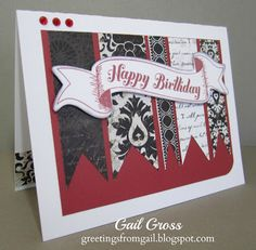 Greetings from Gail: Timeless Tuesday #208 ~ I'm Seeing Red!