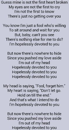 i get over you i know i will lyrics