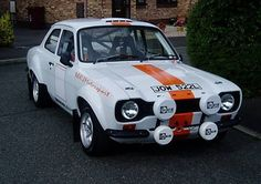 1973 Ford Escort Mk 1 Rally.