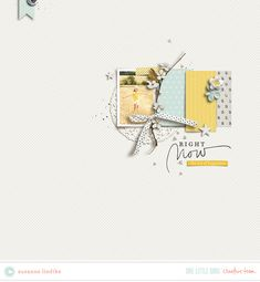 Creative Team Inspiration | One Little Bird #scrapbooking #digitalscrapbooking