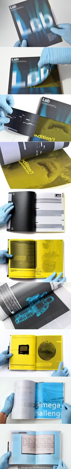 Lab Periodical - Editorial Design by Multiple Owners on behance