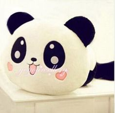 ❀ Panda pillow plush.