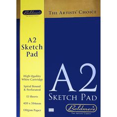 Boldmere A2 Sketch Pad | Sketchpads at The Works