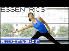 Essentrics Full-Body Barre Workout- Standing Exercises - YouTube