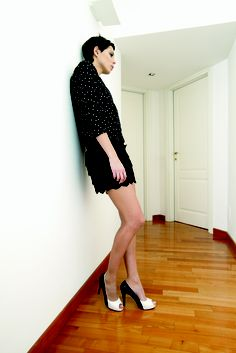 i like black and white!   alberto bressan shoes   ss2012 collection