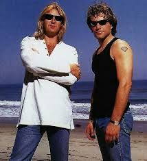 Joe Elliott (From Def Leppard) and Jon Bon Jovi