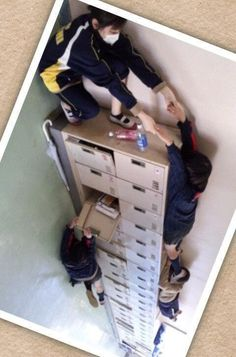 Image result for forced perspective lockers