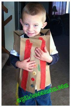 Cute Thanksgiving vest craft