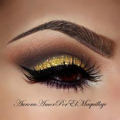 Golden Sultry look