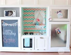 <p>Instead, create a faux cooking space for your kids. This one's much more special than anything yo... - Southern Revivals