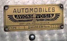 AVIONS VOISIN - Buscar con Google Logo Autos, Automobile, Car Ornaments, Car Photos, Cool Cars, Badges, Logos, Vintage Cars, Photographs