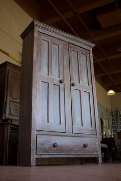 Antique Irish Housekeeper's Cupboard   From a unique collection of antique and modern cupboards at https://www.1stdibs.com/furniture/storage-case-pieces/cupboards/