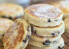 Welsh Cakes are also known as bakestones within Wales because they are traditionally cooked on a bakestone (Welsh: maen), a cast iron griddle