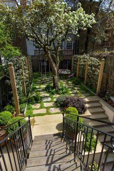 47+ Fascinating Small Backyard Landscape Designs for your garden - Home Decor Small House Garden, Small Garden Plans, Garden Design Plans, Modern Garden Design, Vegetable Garden Design, Tiny House, Design Patio, Backyard Patio Designs, Patio Ideas