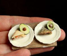 Decay in Miniature IV: Sandwich + Avocado by fairchildart.deviantart.com on @DeviantArt