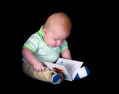 This is my favorite book!  TJ at 3 months!