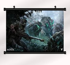 Destiny poster with wall scroll 22 inch x 16 inch bribase shop http://www.amazon.com/dp/B00YC0U3K6/ref=cm_sw_r_pi_dp_B1iFvb103AB4R