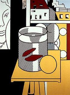 Still Life with goldfish - Roy Lichtenstein