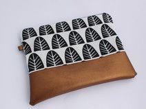 Neu im Herbst: Kosmetiktasche Kupfer Shops, Etsy, Continental Wallet, Zip Around Wallet, Bags, Shopping, Fashion, Handmade, Taschen
