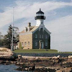 Adaptive Reuse: Turning Commercial Buildings Into Homes. The Morgan Point Lighthouse has stood on Connecticut's Fishers Island Sound since 1868.