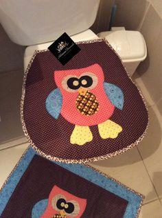 jogo de banheiro em patchwork - Pesquisa Google