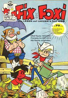 Das-waren-noch-Zeiten - Die 60er Jahre - Comics Fix und Foxi