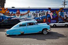 A 'bomba' lowrider. My Dream Car, Dream Cars, Drop The Bomb, Sweet Cars, Chevrolet Impala, Custom Photo, Hot Cars, Friends In Love, Vintage Cars