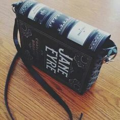 Jane Eyre purse by novelrevelries on Etsy