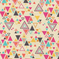 Washi Triangles in Beige