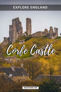 Corfe Castle - Step Back in Time in this Quaint Village of England. Ready to step back in time in Corfe Castle? Hop on the steam train and lets explore this beautiful quaint village of Dorset England. Europe Travel Tips, European Travel, Travel Guides, Travel Destinations, Travel Info, Travel Hacks, Budget Travel, Corfe Castle, Dorset England