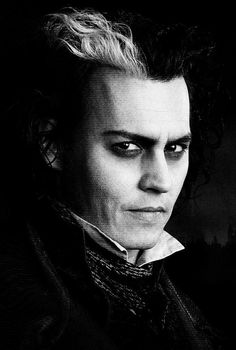Sweeney Todd - fantastic costumes and awesome hair!