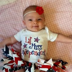 Maison's fourth of July outfit     #thredUPthe4th