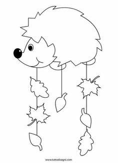 Malvorlagen herbst drachen kostenlos ausmalbilder f r kinder ausmalen pinterest - Herbstblatter deko ...