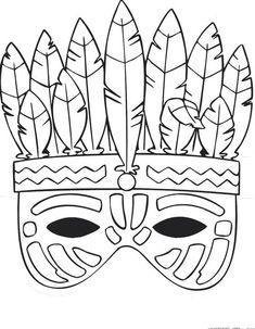 Carnival Crafts, Arts And Crafts, Paper Crafts, Christmas Crafts For Kids To Make, Indian Crafts, Felt Ornaments, Halloween Masks, Mask For Kids, Paper Dolls
