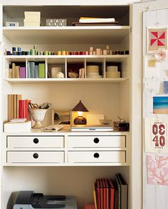 small space -- well organized!