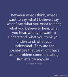 bernard werber quotes in english - Recherche Google