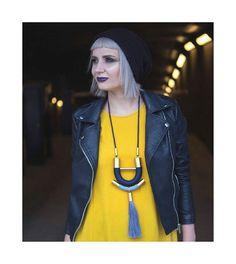 @hellolovehandmade#handmade#instafashion#instajewels#instajewelry#handmade#handmadejewelry#etsy#etsyshop#etsysellersofinstagram#etsyseller#instastyle#etsyfinds#etsystore#jewelry#brass#tassel#design#designjewelry#statement#statementjewelry#statementnecklace#photomodel