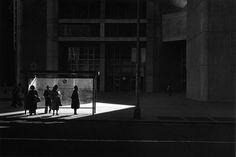 Bus stop - Ray Metzker
