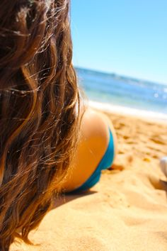 // #summer #hair #beach #brunette