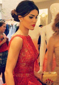 Lady in red! Vestido de festa vermelho para formandas e madrinhas! - Madrinhas de casamento