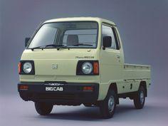 Honda TN-Acty Big Cab '08.1985–05.1988
