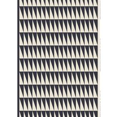 The Marimekko Ararat Grey/Ecru Linen/Cotton Fabric is a winner from every angle. The complimentary triangles in a charcoal grey and ecru colorway are as hot as they are enduring. The Marimekko Ararat p