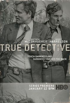 True Detective - Season 1 True Detective focus on two detectives and their epic hunt for a serial killer in Louisiana. Martin Hart and Rust Cohle are interviewed separately by investigators about their most notorious case: the macabre 1995 murder of a prostitute by a possible serial killer with disturbing occult leanings. As they look back on the case, Hart and Cohle's personal backstories and often-strained relationship come into focus, all connected by one thing: their shared obsession...