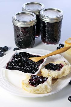 Blueberry Jam - Recipes Food and Cooking #FreshFromFlorida #IC ad