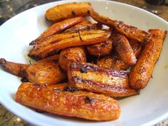 A touch of warming spice and a dash of orange zest make these simple roasted carrots a perfect autumn or winter side dish. Delicious!