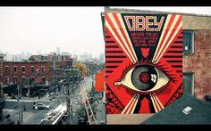 Shepard Fairey's OBEY Takes Over Toronto  http://sidewalkhustle.com/shepard-faireys-obey-takes-over-toronto/