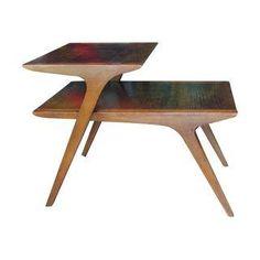 Atomic Drexel Side Table by John Van Koert