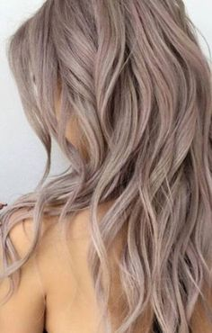 Antique rose hair Color