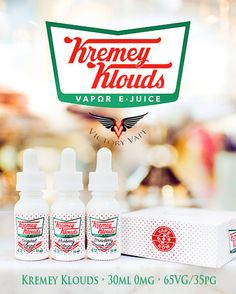 Kremey Klouds E-liquid • 30ml 0mg • 65VG/35PG   Find These yummy e-Juices and more @ http://TeagardinsVapeShop.com or look for Teagardins Vape Shop in google play store today to get all the Newest vape products right on your cell phone.