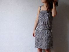 FREE Easy Dress Sewing Pattern and Tutorial